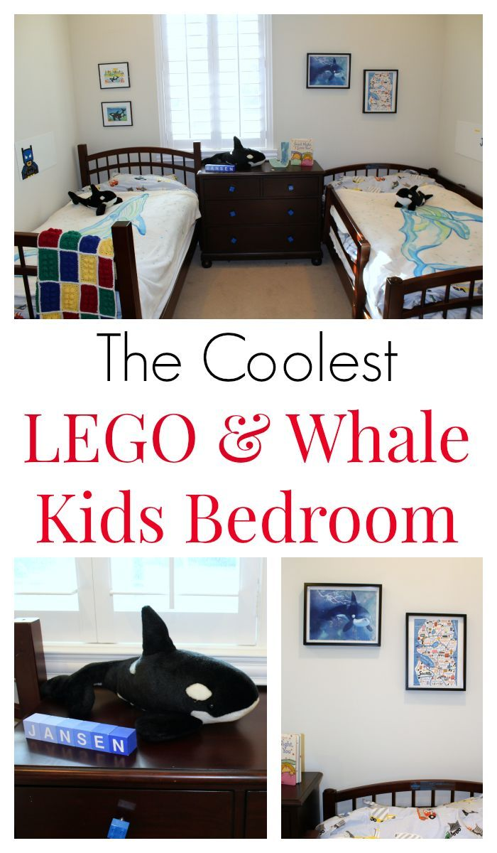 The Coolest Whale and LEGO Kids Bedroom | Whale decor, Bedroom fun ...