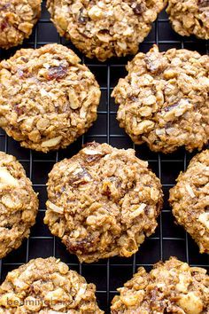 Good Morning Breakfast Cookies: an easy recipe for feel-good, energy-boosting cookies made with whole ingredients. BEAMINGBAKER.COM #Vegan #GlutenFree