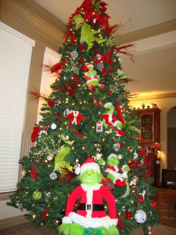 9ft grinch tree christmas