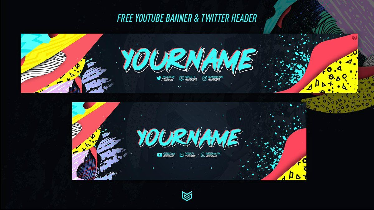 B L A I R On Twitter Free Fifa 20 Banner Header For Pertaining To Twitter Banner Template Psd Banner Template Twitter Banner Banner Template Photoshop