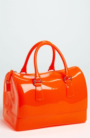 Furla Candy Transparent Rubber Satchel Available At Nordstrom