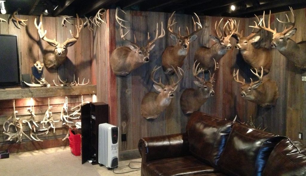 Uploaded From The Photobucket Iphone App See This Image On Photobucket Man Cave Home Bar Hunting Man Cave Hunting Room