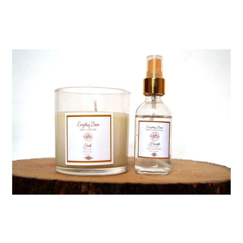 Simple Elegance Candle and Fragrance Spray Gift Set