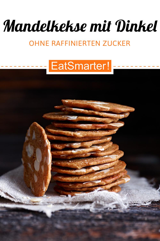 Mandelkekse mit Dinkel #quickcookies