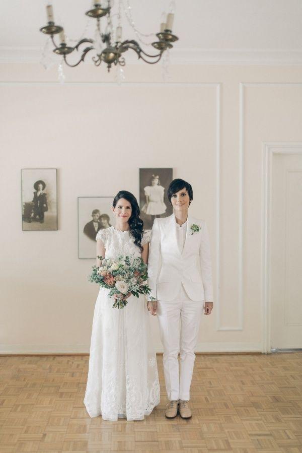 White Wedding Suit For Bride | Wedding Ideas