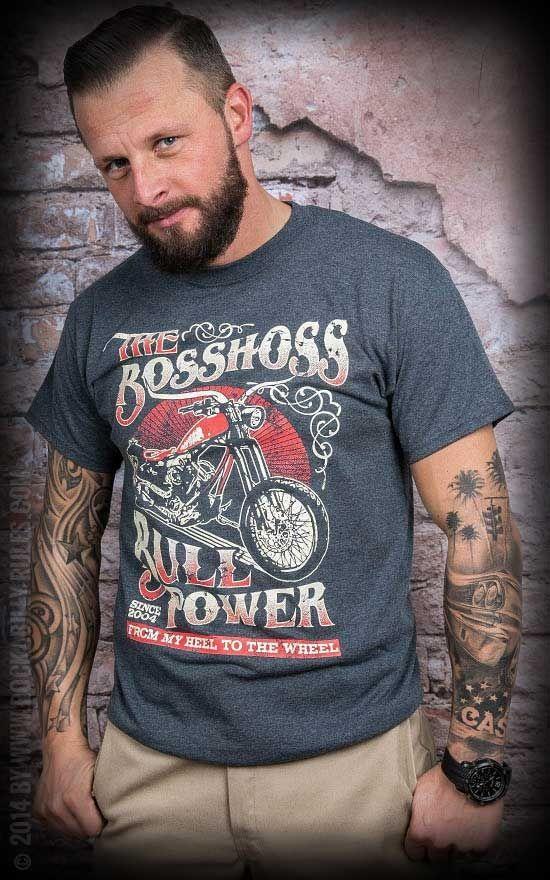 T-Shirt - The Boss Hoss - Bullpower - Motorcycle