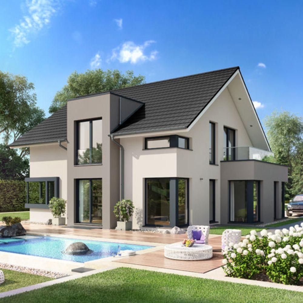 Fertigteilhaus modern  VARIO-HAUS New Design III #gibtdemLebeneinZuhause, Einfamilienhaus ...