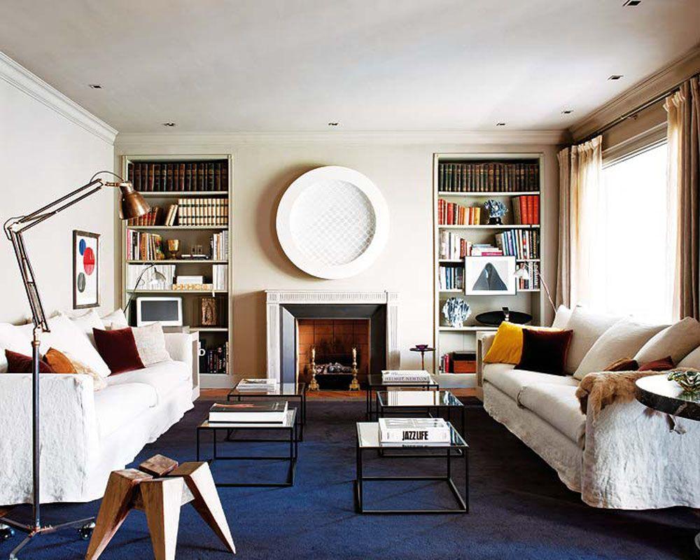 Apartment Interior Interesting Apartment Living Room With White