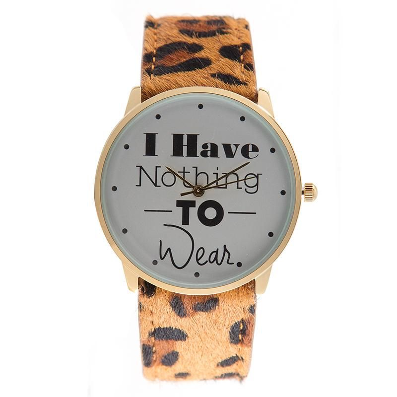 Rich Gone Broke | Montre I Have Nothing to Wear Leo - Marie Luv Pink | Shopnextdoor
