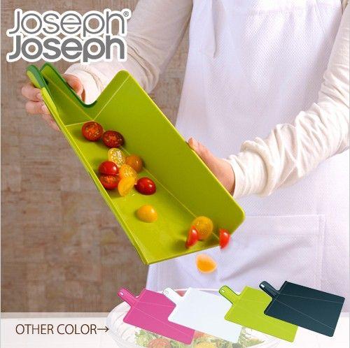 英国JOSEPH JOSEPH 易入锅切菜板 折叠案板塑料砧板 厨房用品大号-淘宝网