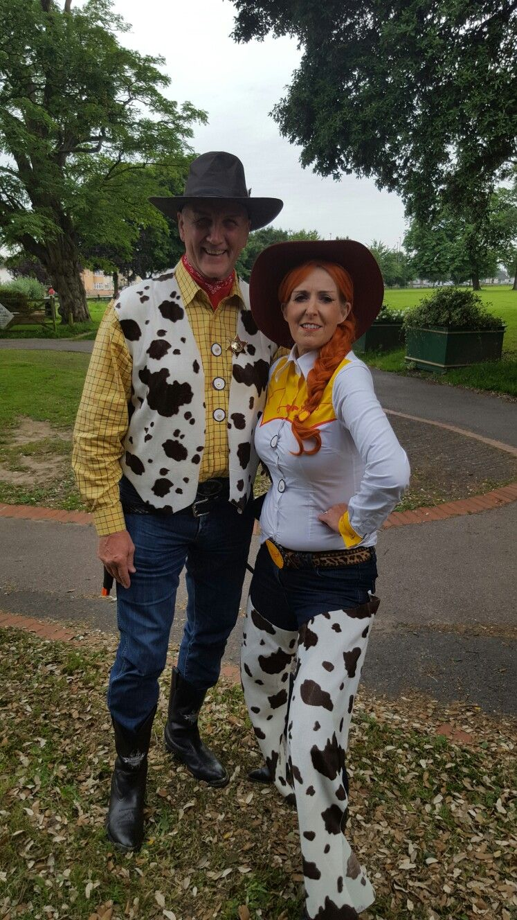 Toy storys jessie and woody homemade fancy dress costume toystory toy storys jessie and woody homemade fancy dress costume solutioingenieria Choice Image