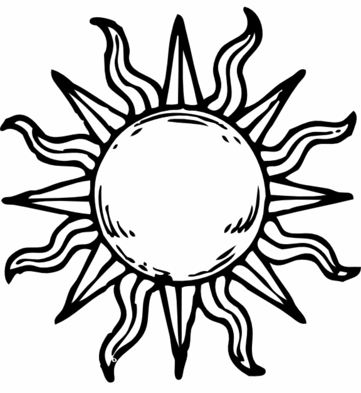 Sun tattoo Sun tattoo designs, Sun tattoo, Sun drawing