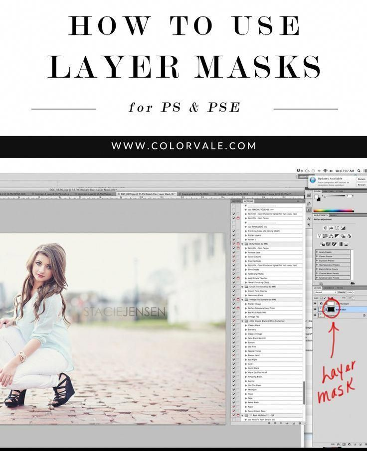 How to use layer masks in and Elements
