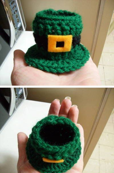 Free Leprechaun Hat Candy Dish Crochet Pattern | Crochet patterns ...