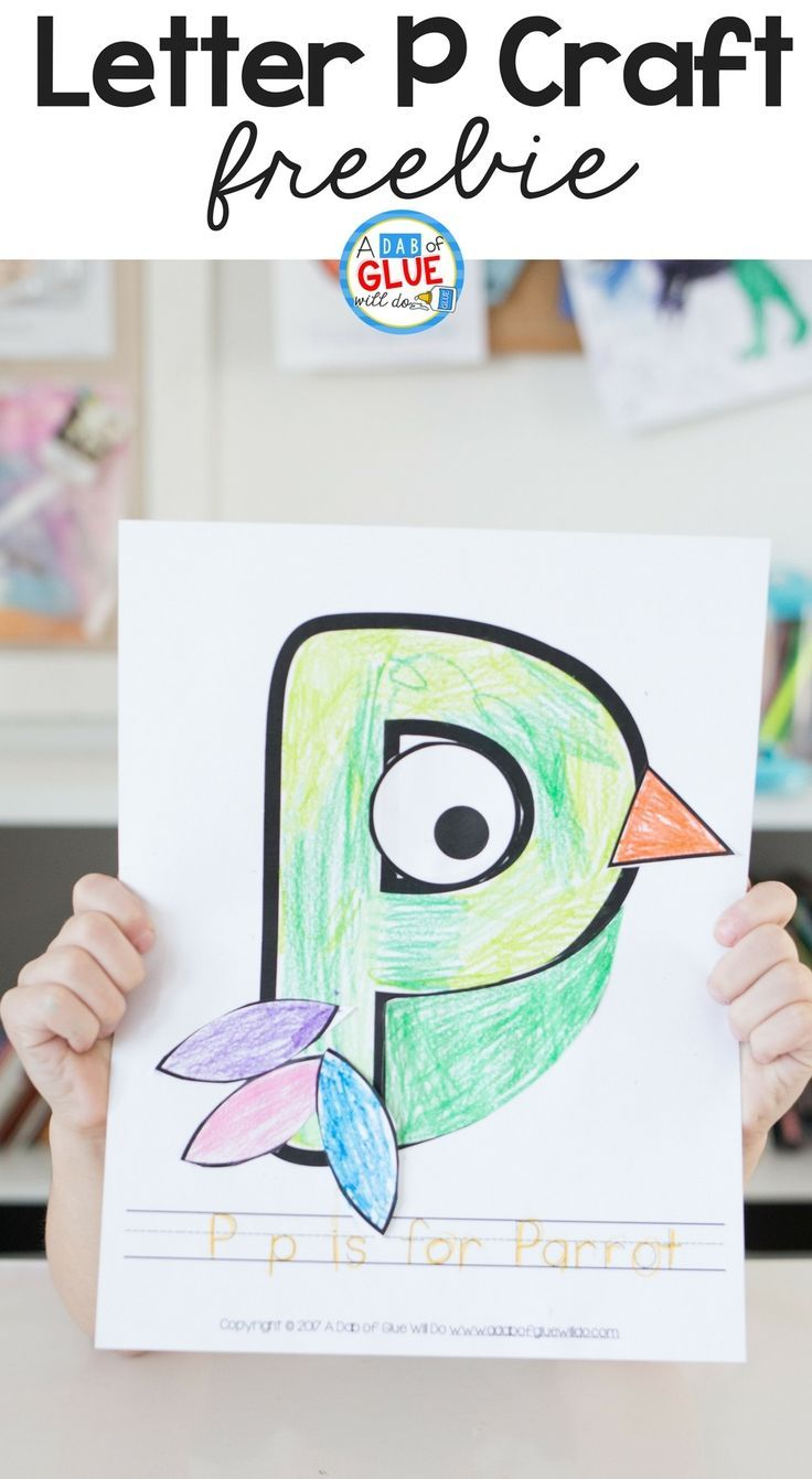 Animal Alphabet P is for Parrot | Parrot craft, Animal alphabet and ...