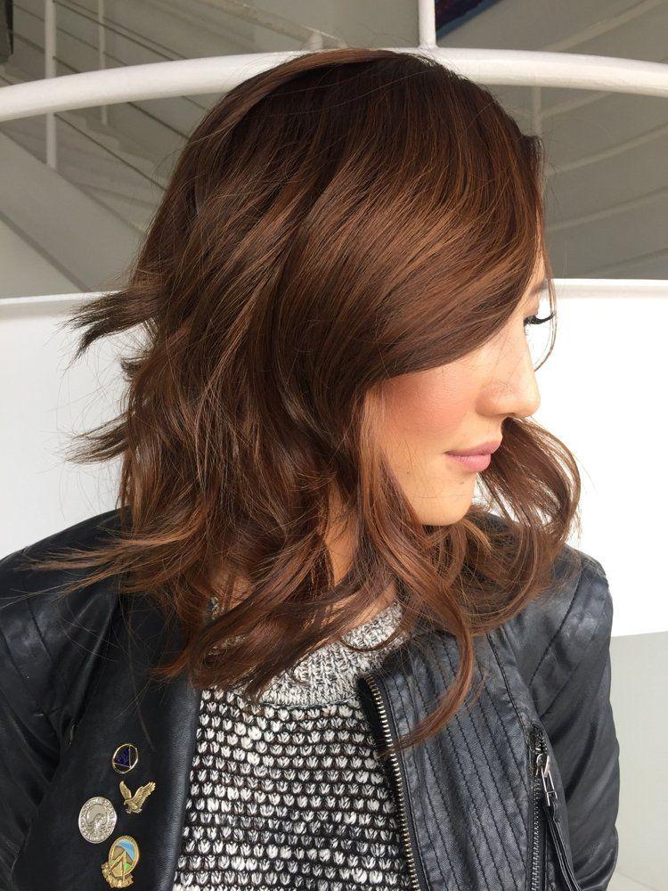 Neue Frisuren 2017 Kupfer Haarfarbe Haar Trends 2018 Und