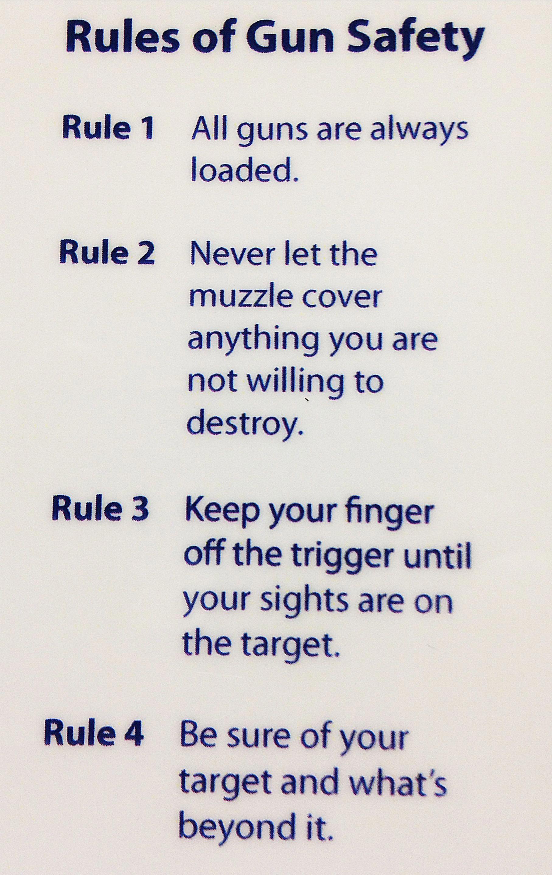 Make hunting safety a top priority guns safety guns