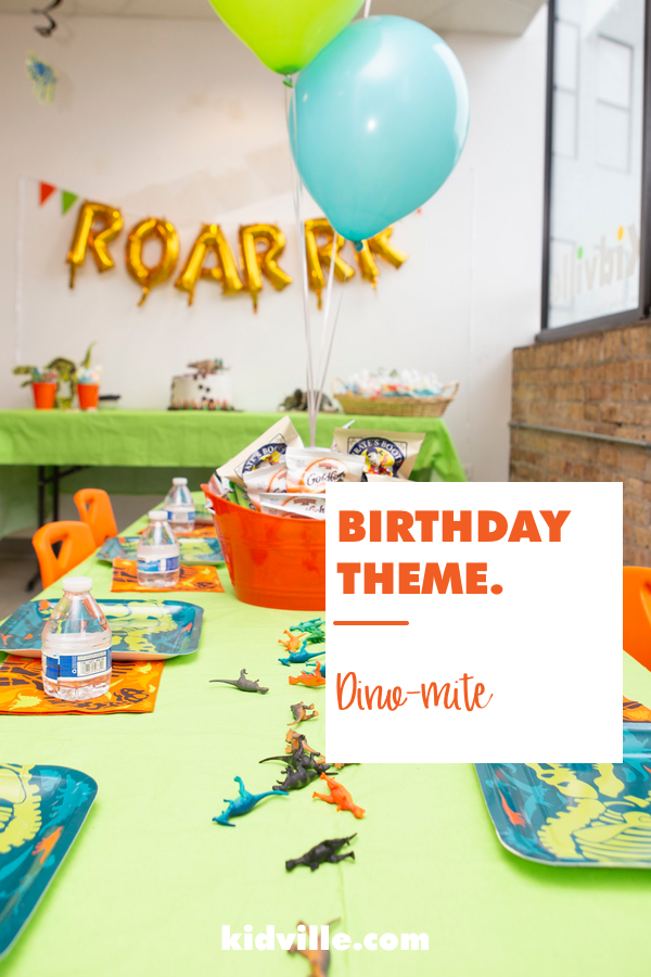 994b1fc3 You're gonna dig this dinosaur kid's birthday party theme! Hint: DYO ...