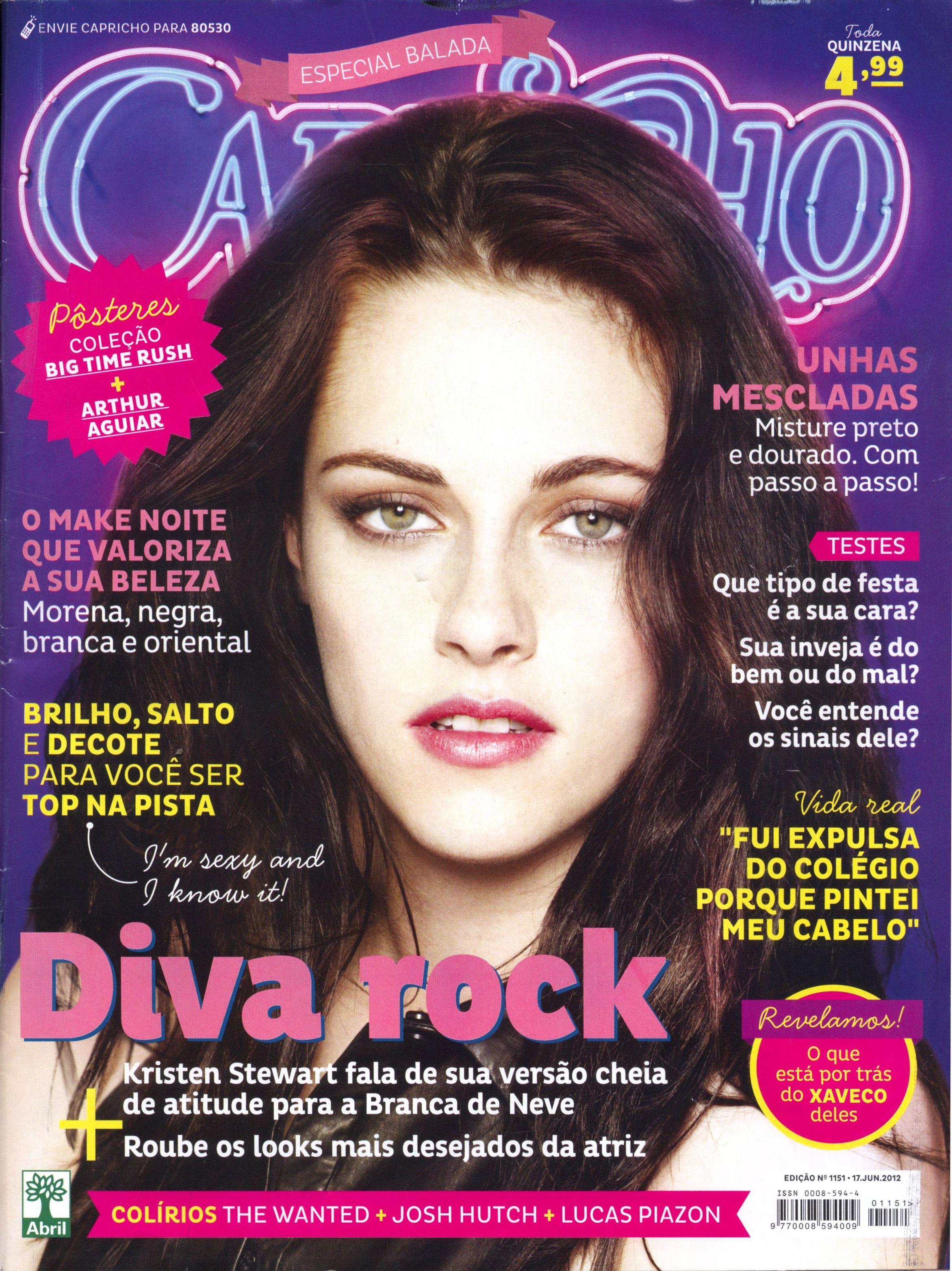Extremamente revista capricho moda 9 | capas | Pinterest | Kristen stewart  FS56