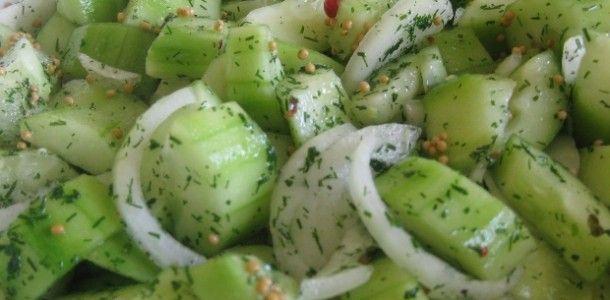 Gurkensalat mal anders