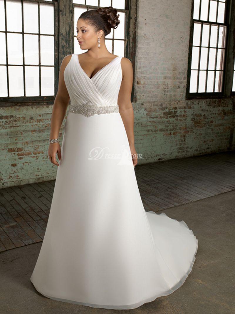 Zippered Wedding Dress for Beach / Destination and Garden / Outdoor ...