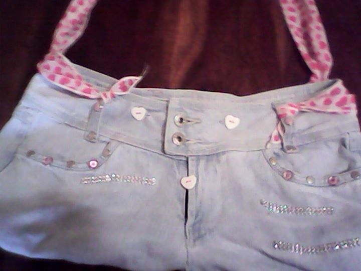 borsa riciclo jeans