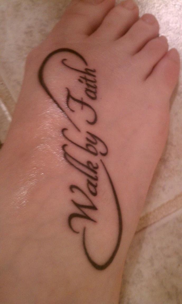Faith Foot Tattoos : faith, tattoos, Things, Scare, Incoming, Freshmen, Faith, Tattoos,, Tattoos, Women,