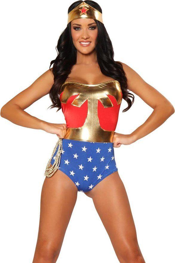 5c38fb5c644e8 Cool Sexy Wonderwoman Costume | Halloween Costumes | Superhero ...