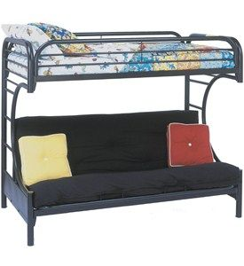 bunk bed with futon underneath image  interesting option  bunk bed with futon underneath image  interesting option      rh   pinterest