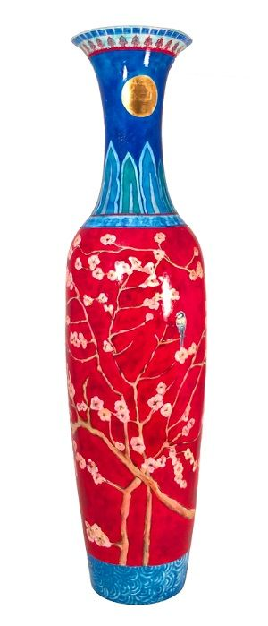 Hand Painted 1 8m Large Vase