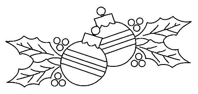Hoja de navidad para colorear - Imagui | pintura en tela | Pinterest ...
