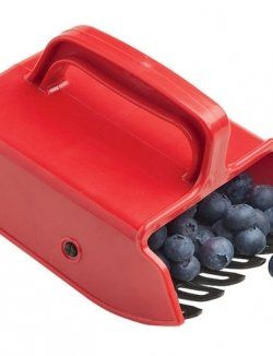 Berry-Picking-Rake - what a nifty idea-though this is more of a garden gadget I don't have a board for that :-p