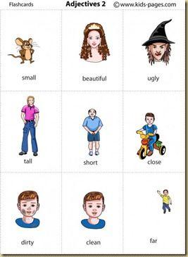 Adjetivos Em Ingles O Que E Adjetivo Atividades De Ingles E