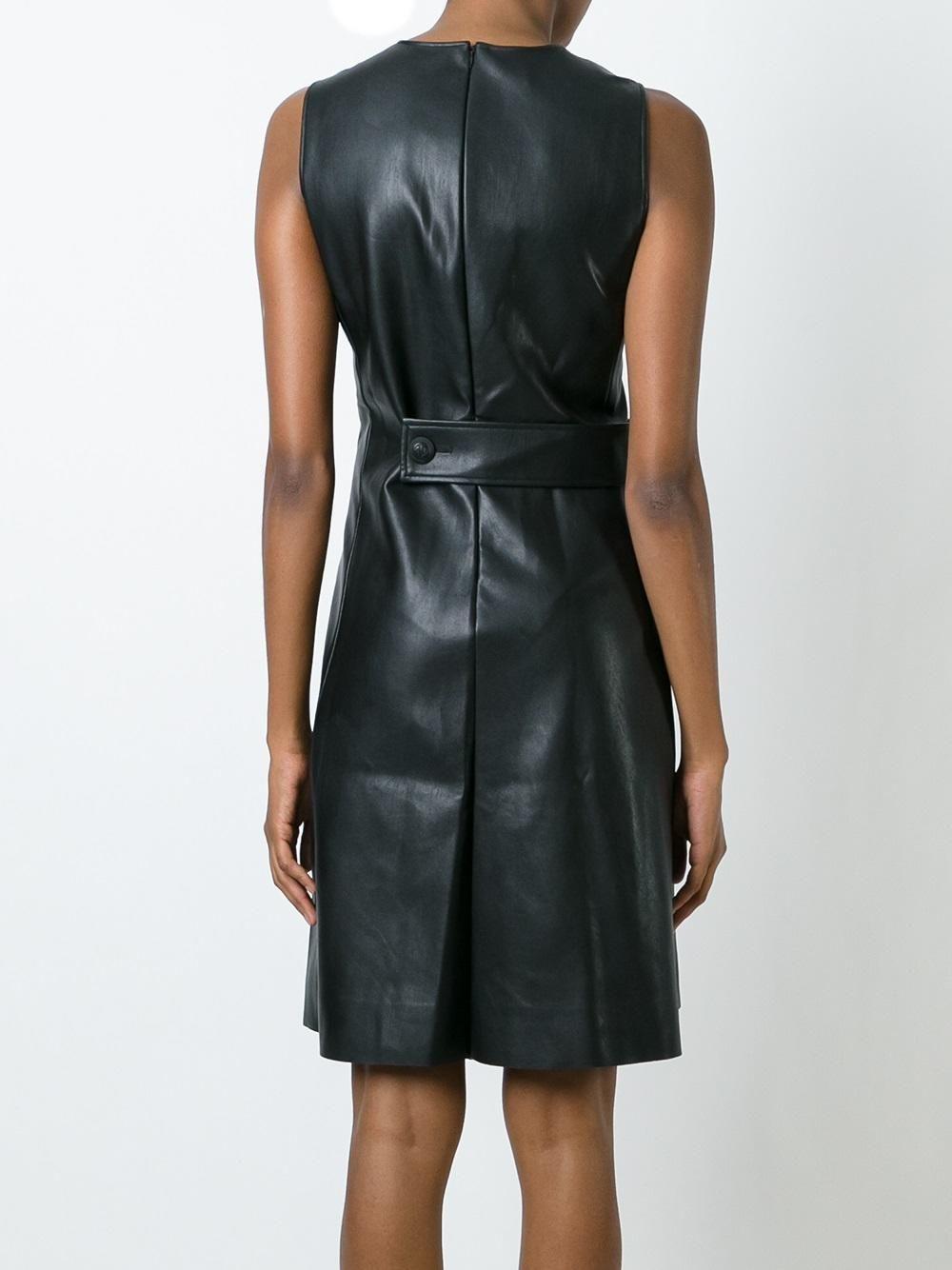 Cédric Charlier платье с панельным дизайном