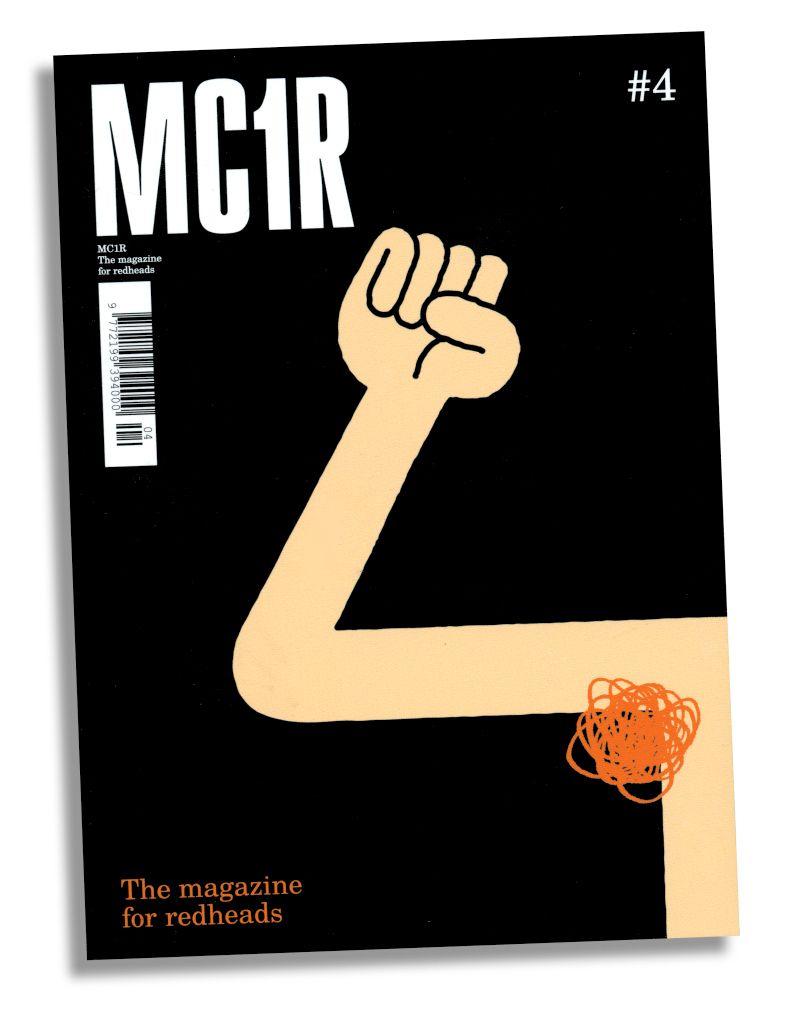 Titel von Tim Lahan für »MC1R«, das weltweit erste #Magazin für Rothaarige // #Coverdesign #Coverillustration #Illustration #Redheads #Magazine