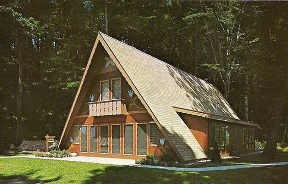 Pin By Cathy Jensen On A Frame House A Frame House Cottage Design A Frame House Plans