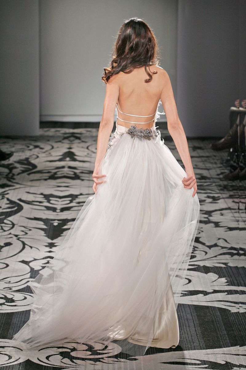 Long wedding reception dresses for the bride  Colorful Wedding Reception Dresses By Jenny Lee  Bridal Fashion