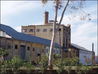 Azucarera San Fernando y destilería Los Rosales Tocina (Sevilla)