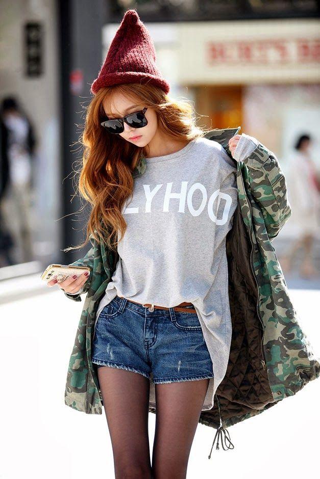 785d08238a365 Resultado de imagen para estilo urbano coreano ropa