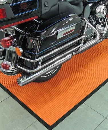 Take a look at this Orange Classic Rubber Motorcycle Landing Pad by Bungalow Flooring on #zulily today!