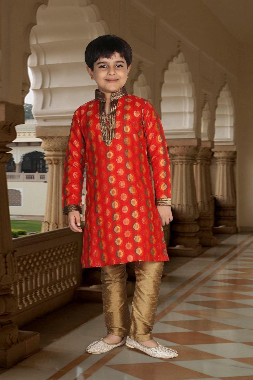 65765a808a Kids Indian Wear, Indian Groom Wear, Wedding Dress For Boys, Boys Kurta,