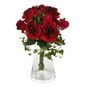 Sia - Mixed Red Roses Bouquet