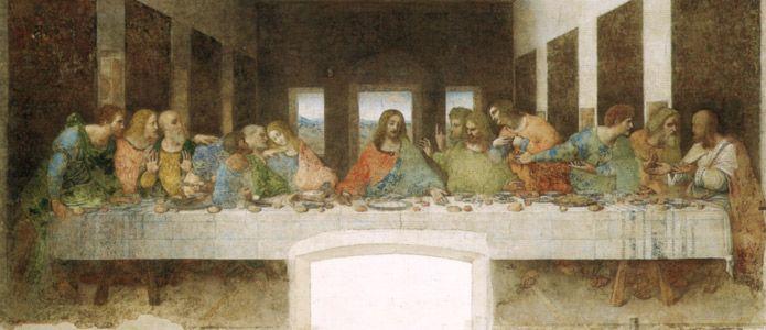 La Cène   Peinture à La Détrempe De Léonard De Vinci