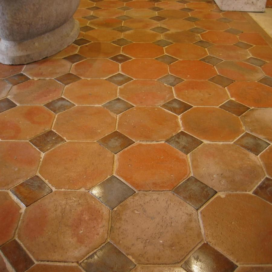 French antique terracotta floors with oak inserts home french antique terracotta floors with oak inserts dailygadgetfo Choice Image