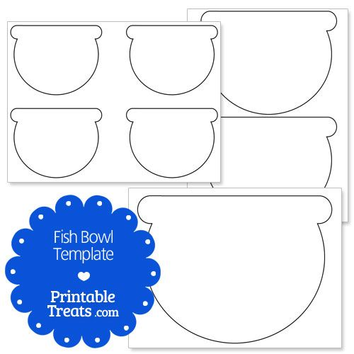 printable fish bowl template | crafty ideas | pinterest, Powerpoint templates