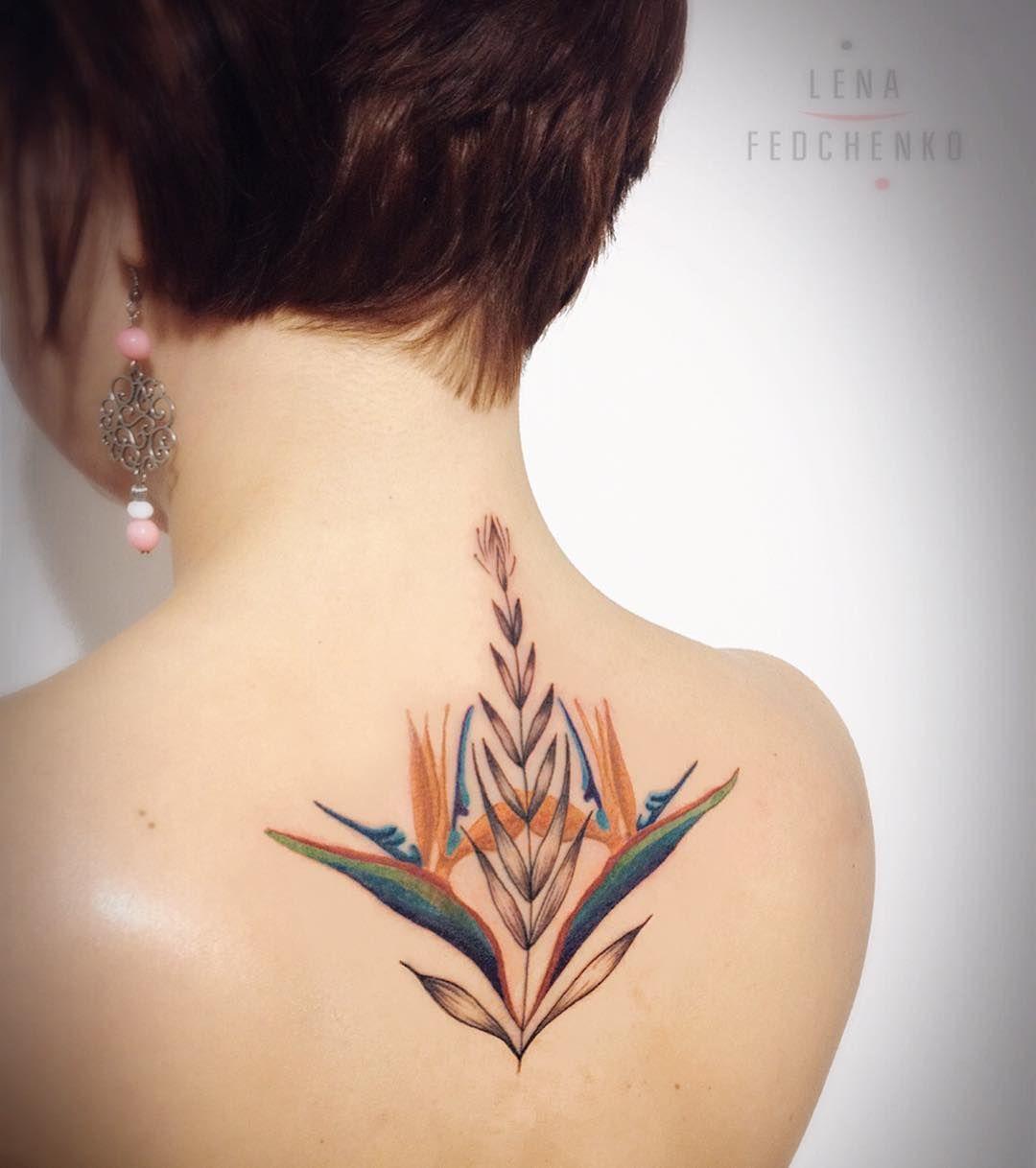 Birds Of Paradise Tattoo Birds Paradise Tattoo Paradise Tattoo Bird Of Paradise Tattoo Flower Tattoo