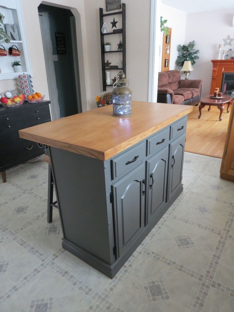 How To Turn An Old China Cabinet Into A Beautiful Kitchen Island Diy Diy Kitchen Renovation Rustic Kitchen Island Kitchen Renovation