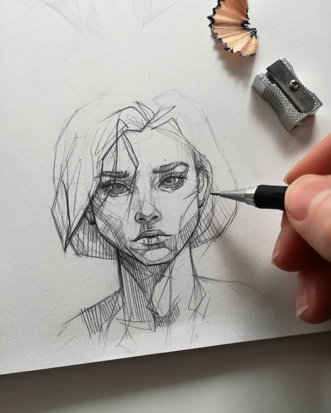 #Ani #Artist #Cinski #Pencil #Sketch Ani Cinski is a German pencil sketch artist...