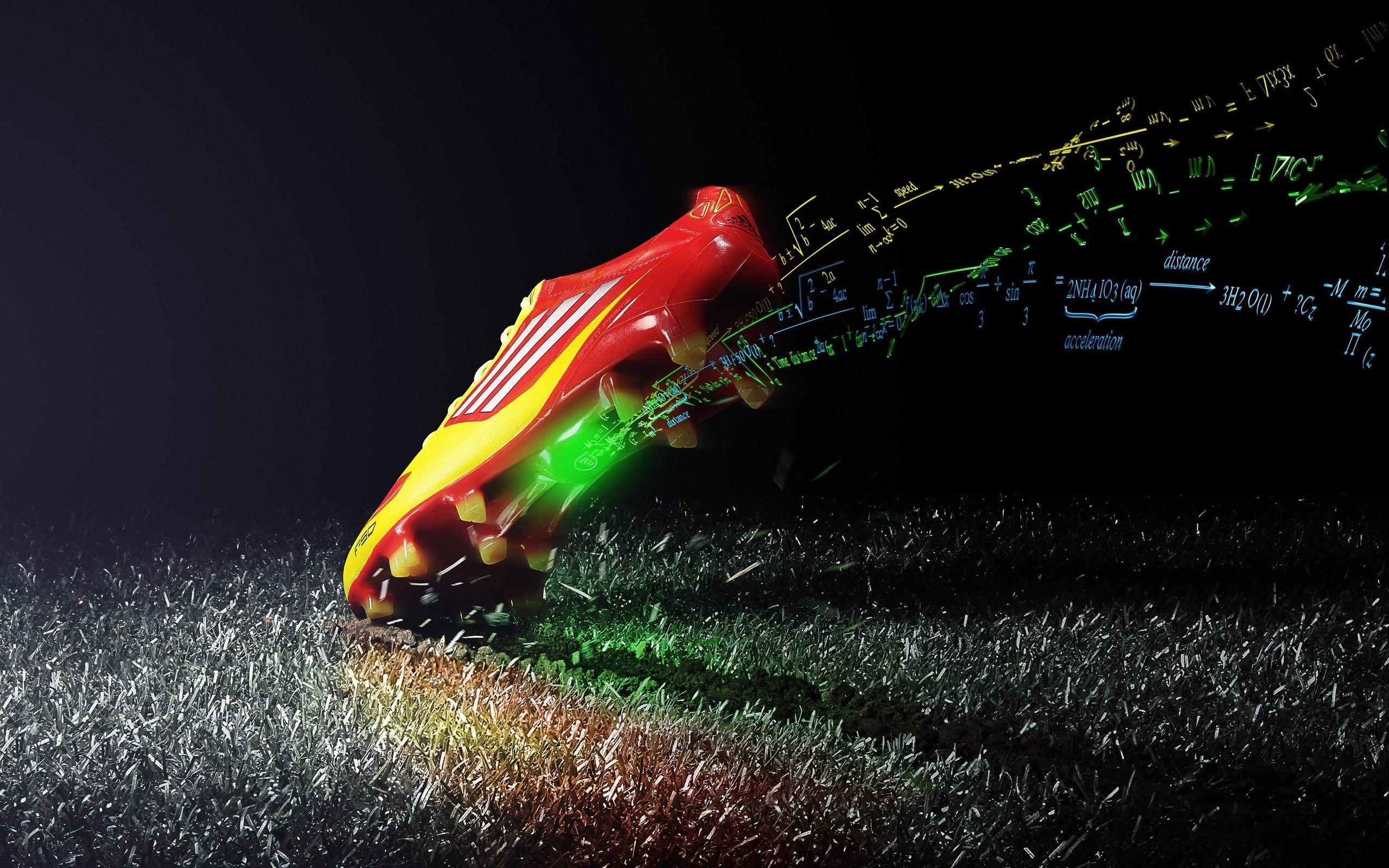 17c2f035122ec Cool Football Shoe Abstract HD Wallpaper Futebol