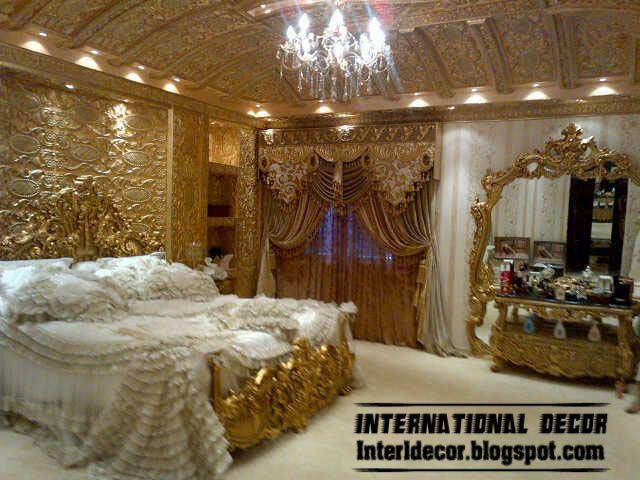 Royal Bedrooms 2015 Royal Glided Interior Design Luxury Glided